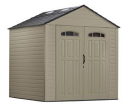 Rubbermaid Roughneck 7x7-Foot Resin Storage Building