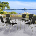 Miami 7-Piece Outdoor Patio Set