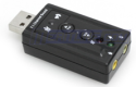 Virtual 7.1-Channel USB Sound Card Adapter