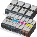 Canon PGI-220 & CLI-221-Compatible Ink 12-Pack