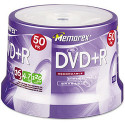 Memorex 16x DVD+R Media 50-Pack for $9 + pickup at Walmart