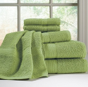Brylane Home Scenario 6-Piece Towel Set