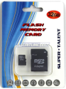 Super Talent 16GB microSDHC Class 4 Card w/ Adapter