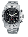 Pulsar by Seiko Men's Stainless Analog Watch with alarm