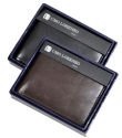 Umo Lorenzo Men's Leather Bi-Fold Wallet