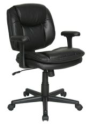 Dorra Bonded Leather Task Chair for $50 + free shipping, padding