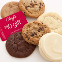 Cheryl's 6-Cookie Sampler Pack with $10 gift card