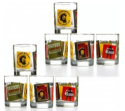 Captain Morgan Double Old-Fashioned Glasses 8-Pack