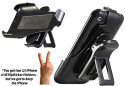 Bracketron Hip-Kicker Holster / Desktop Mount for iPhone