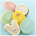 Cheryl's 6-Cookie Easter Sampler