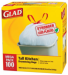 100 Glad 13-Gallon Tall Kitchen Trash Bags for $10 + free shipping