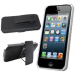 Oker Hard Rubberized Case for iPhone 4 / 5, Belt Clip for $4 + free shipping