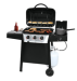 Backyard Grill 3-Burner LP Gas Grill w/Side Burner for $128 + pickup at Walmart