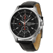 Seiko Men's Black Dial Chronograph Watch for $72 + free shipping