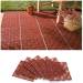 6-Piece Interlocking Outdoor Patio Flooring Tile Set for $13 + $8 s&h