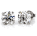 1/3-tcw Round Diamond Stud Earrings for $99 + free shipping