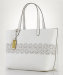 Lauren by Ralph Lauren Women's Laser-Cut Classic Tote for $118 + $5 s&h