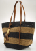 Lauren by Ralph Lauren Striped Straw Tote for $90 + $5 s&h
