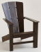 Gray Coastal Adirondack Chair for $82 + $23 s&h