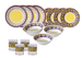 Villa della Luna 16-Piece Melamine Dinnerware Set for $60 + free shipping