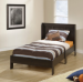 Mainstays Twin Platform Bed with Headboard for $99 + pickup at Walmart