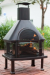 Red Ember Rubbed Bronze Fireplace with Cover for $200 + free shipping