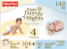 Happy Days/Nights Size 4 Diapers 140-Pk. for $25 + free shipping via Prime