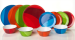 Gourmet Home Products 12-Piece Melamine Dish Set for $20 + free shipping