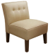 Armless Upholstered Accent Chair with Buttons for $70 + pickup at Meijer