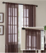 Madison Park Jayden Faux Linen Sheer Curtain for !!$14!! + $6 s&h, more