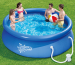 10-Foot Round Inflatable Swimming Pool for $49 + free shipping