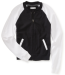 Aeropostale Women's Colorblocked Full-Zip Bomber Jacket for $15 + $7 s&h