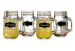 18-oz. Chalkboard Mason Jar Glass 4-Pack for $10 + $6 s&h