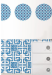 Wallpops Carnaby Dots & Blox Wall Art for $16 + free shipping