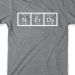 """N Er Dy"" Periodic Table T-Shirt (large sizes) for $8 + free shipping"