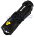 Sipik Focus Zoom Fisheye Cree Q3 LED Flashlight for $7 + free shipping
