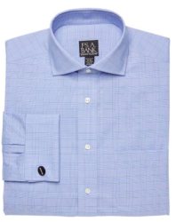 Jos. A. Bank Men's Tailored Plaid Dress Shirt $20