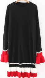 SheIn Women's Block Bell Sweater Dress for $12