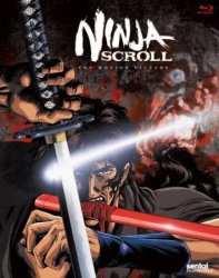 Ninja Scroll: The Motion Picture on Blu-ray $12