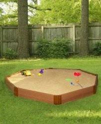 Composite Octagon Sandbox Kit for $238