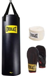 Everlast 100-lb. Heavy Bag Kit w/ Stand for $129