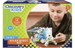 Discovery Kids 14-in-1 Solar Powered Robot for $14