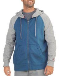 Russell Men's Full-Zip Hoodie for $10