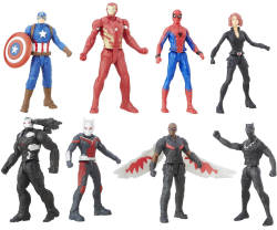 Captain America Civil War Figure Multipack for $10