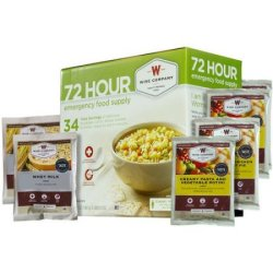Wise Company 72-Hour Emergency Food Supply for $32