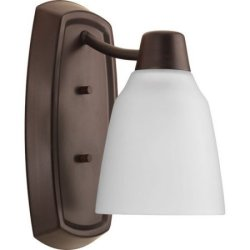 Progress Lighting Asset 1-Light Bathroom Sconce $5