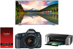 Canon EOS 5D Mark III 22MP DSLR Bundle for $3,100