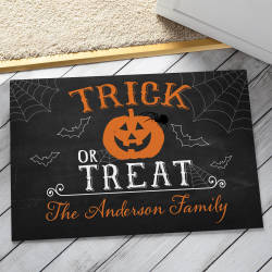 Personalized Halloween Doormats at Walmart for $15