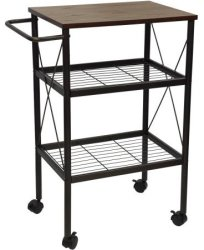 Mainstays Mixed Material Multi-Purpose Cart $50