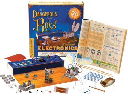 The Dangerous Book: Essential Electronics Kit $21